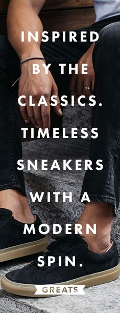 High quality sneakers for women & men at a fraction of the price. GREATS: Born in Brooklyn. Handmade in Italy. Shop stylish, luxury leather shoes that are truly�versatile. Free shipping on orders over $75.�