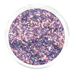 """.008"""" Fine Glitter Powder Mixed With 1MM Hexagon Glitter – Periwinkle Purple Glitter  #glitties #glitter Glitter Rocks, Purple Glitter, Cosmetic Grade Glitter, Arts And Crafts Projects, Nail Tech, Periwinkle, Online Art, Hair And Nails, Sprinkles"""