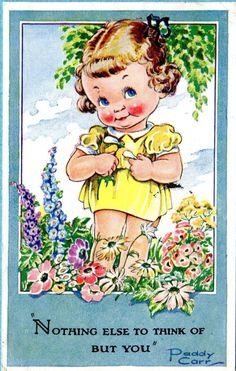 Paddy Carr postcard 1948 | eBay