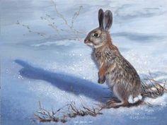 Peinture lapins, lièvres