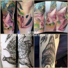 Body Art Tattoos, Bat Tattoos, Tattoo Inspiration, Watercolor Tattoo, Tattoo Designs, Bats, Facebook, Tattooed Guys, Tattoo Patterns