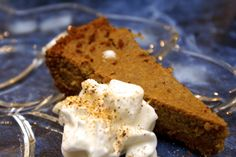 Pumpkin Pie with Graham Cracker Crust  Recipe from WeightWatchers.com  Ingredients  3 oz reduced-fat cinnamon graham crackers (about 5 1/2 sheets)  1 TB packed light brown sugar  2 TB regular butter, melted  2 Lg egg whites  1 Lg egg  1/2 cup dark brown sugar  1/4 tsp salt  2 tsp pumpkin pie spice  1 cup canned pumpkin  1/2 cup fat-free evaporated milk  1/4 cup lite whipped topping  Directions  Position rack in middle of oven. Preheat oven to 350ºF.