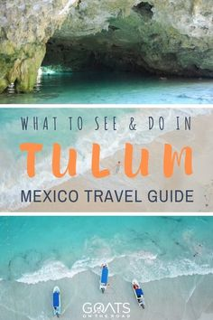 Heading to mexico? visit tulum, there are so many things to do in this beautiful destination, from visiting mayan ruins, to snorkeling coral reefs at Cancun Vacation, Mexico Vacation, Mexico Travel, Vacation Spots, Cozumel, Bora Bora, Best Places To Travel, Cool Places To Visit, Honduras