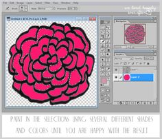 We Lived Happily Ever After: How to Add Color to Your Digital Graphics in Photoshop