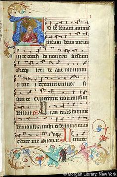 Gradual, MS M.905 I, fol. 1r - Images from Medieval and Renaissance Manuscripts - The Morgan Library & Museum