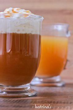Starbucks Copycat Drink Recipe- Caramel Apple Spice www.inkatrinaskitchen.com @KatrinasKitchen