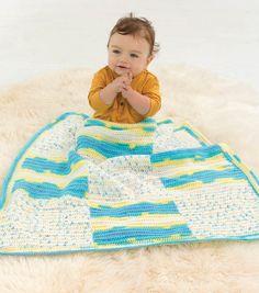 Bright Square Baby Blanket. Jo Ann