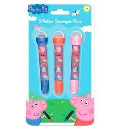 Set de 3 Rotuladores con Sellos Peppa Pig por 4 euros