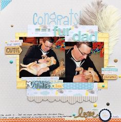 Scrapbooking Ideas for Designing with Text Elements | Devra Hunt | Get It Scrapped