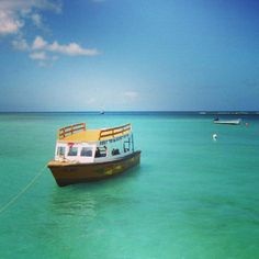Nylon Pool - located between the most popular  Pigeon Point Beach and Buccoo Reef is definitely a MUST on your Tobago visit