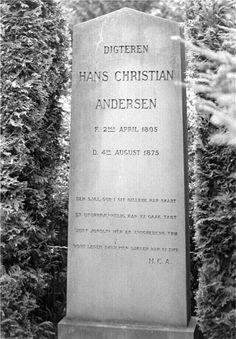 Grave Marker- Hans Christian Andersen, 1805-1875