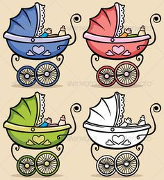 Baby Stroller  #GraphicRiver         Retro baby stroller in 4 versions. No transparency and gradients used. CDR , AI, EPS , JPEG and PSD files.     Created: 5March12 GraphicsFilesIncluded: PhotoshopPSD #JPGImage #VectorEPS #AIIllustrator Layered: Yes MinimumAdobeCSVersion: CS Tags: baby #babycarriage #babyshower #babystroller #birthday #blue #born #boy #cartoon #child #children #clipart #design #element #girl #green #greetingcard #infant #isolated #life #little #new #newborn #perambulator…