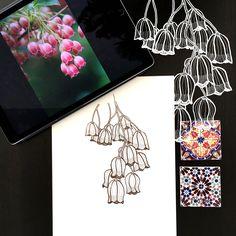 Day 16 #30ideas30days #illustration #flowers #blackandwhite #drawing #patternly.design #30ideias30dias #ilustração #flores #pretoebranco #desenhoobservacao #decolalab2016 #oficinaamandamol