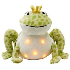 Twinkling Firefly Frog - Close the door at bedtime and listen–it's quiet! Now your little one has a glowing friend to ease fear of the dark. Toddler Toys, Kids Toys, Toy Catalogs, Fear Of The Dark, Indoor Activities For Kids, Baby Fever, Twinkle Twinkle, Gifts For Kids, Dinosaur Stuffed Animal