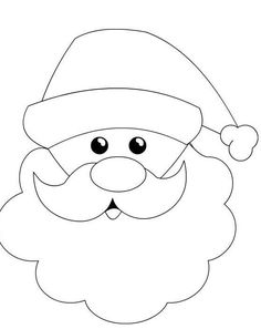 image result for how to draw santa claus face children pinterest