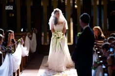 If you cry walking down the aisle, make sure to smile through it or the pictures will be disastrous...
