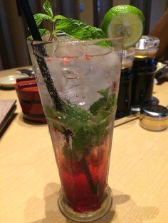 Virgin Strawberry Mojiato by Sushi Tei at Bintaro Exchange