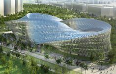 vincent callebaut architectures unveils swallow's nest - designboom