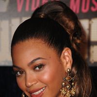 Twisted top-knot - Beyonce hairstyles from ghd
