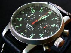 Poljot Aviator 1 schwergängig - UhrForum