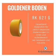 RK 621 G - Gipserband zum Abdecken #Krueckemeyer #Klebeband #Kleben #Adhesive #Tape #Oberflächenschutz