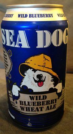 Sea Dog Blueberry Wheat Ale!