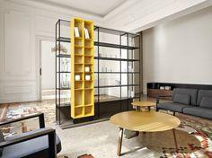 Open divider bookcase LITERATURA OPEN - Punt