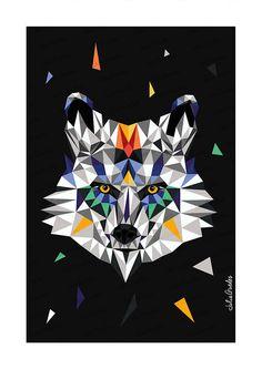 DIMITRE - Zoométricos on Behance Por Julia Guedes #illustration #geometricart #digitalpainting #artprint #geometricanimals #geometricillustration #zoometricos