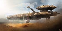 ILM department challenge concept spaceship entries by our friend Shwetank Shukla.                       Keywords: star wars concept spaceshi...