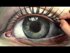 ▶ Soul, How to Paint Eye in Watercolour, Time Lapse - YouTube