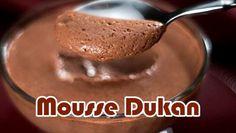 Mousse de chocolate Dukan