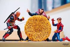 """silsfandomstuff: """" archiemcphee: """" Action figures come to life in the hands of Japanese photographer Hot. Characters from Marvel and DC comics, Star Wars, Disney, Pokémon and more dynamically. Ms Marvel, Marvel Funny, Marvel Avengers, Figurines D'action, Figure Photography, Toys Photography, Miniature Photography, Spiderman, Iron Man"""