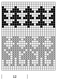 Mustrilaegas: A Kudumine / Knitting Fair Isle Knitting Patterns, Knitting Charts, Knitting Stitches, Baby Knitting, Motif Fair Isle, Fair Isle Chart, Wool Applique Patterns, Stitch Patterns, Crochet Blanket Tutorial
