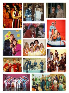 Childhood television variety shows. Actors who sing! Singers who act!