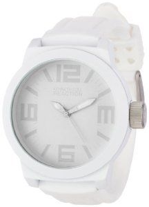 Kenneth Cole New York Kenneth Cole Unisex Reaction White Silicone Bracelet Analog Watch Amazing Watches, Beautiful Watches, Cool Watches, Wrist Watches, Men's Watches, White Dress Shoes, Field Watches, Silicone Bracelets, Automatic Watches For Men