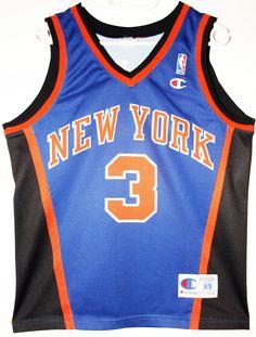 Champion NBA Basketball New York Knicks #3 John Starks Trikot / Jersey Size XS - 69,90€ #nba #basketball #trikot #jersey #ebay #sport #fitness #fanartikel #merchandise #usa #america #fashion #mode #collectable #memorabilia #allbigeverything