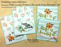 What? Another Sale!? yay!! click to see the current sale - week 3! These great Stampin' UP! Project Life cards are on sale but only through Wed., Sept. 21, 2016!!  Get them NOW while you can enjoy