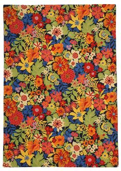 Company C July Blueberry Hand-Hooked Area Rug