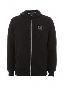 VA all the way zip-through hoodie Black