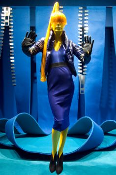 Selfridges Window Display 2007 | Zip Scheme by Millington Associates