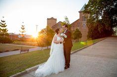 wedding church sunset bride and groom Brisbane, Melbourne, Perth, Surf, Photography Ideas, Wedding Photography, Gold Coast, Beautiful Bride, Family Photographer
