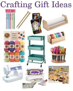 Do your kids love arts and crafts? This is a great gift guide broken down by age. So many crafts, supplies and helpful gifts to pick from. Also great if you are setting up a craft space for kids. #gifts #giftguide #giftideas #christmasgifts #birthdaygifts #kids #christmas #giftideas