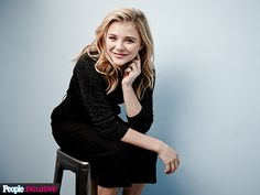 Photo Booth Fun at the Toronto International Film Festival | CHLOË GRACE MORETZ | The fresh-faced starlet heads to Toronto to promote the action-heavy The Equalizer, which she stars in alongside Denzel Washington and Melissa Leo.