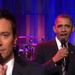 [VIDEO] Slow Jam The News with Obama on Jimmy Fallon