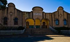 Arthur Nathan Public Baths 1907.  There is new plans to improve this building to its old glory.  Photograph by Martie Venter