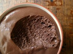 healthy low carb frozen chocolate dessert for phase 2 snack!