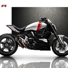 "43.7 mil Me gusta, 139 comentarios - Ducati Instagram (@ducatistagram) en Instagram: ""The X Diavel R Courtesy of: V'Spirit Motorworks, France  #ducatistagram #ducati #xdiavel #r"""