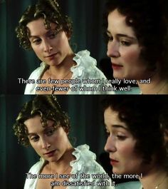 Pride and Prejudice - Jane and Elizabeth - Jane Austen Movies Showing, Movies And Tv Shows, Pride And Prejudice Book, Jane Austen Movies, Mr Darcy, Thats The Way, Favim, Period Dramas, Movie Quotes