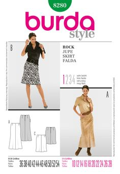 four-panel skirt, form-fitting in the hips, lightly sweeping at the hem. skirt a…