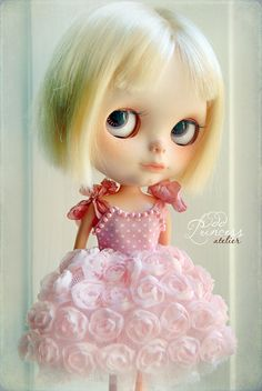 PRINCESS OF ROSES Blythe Corset Dress With Tulle by oddprincess